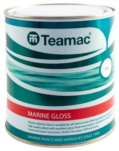 Teamac Marine Gloss Paint 1lt
